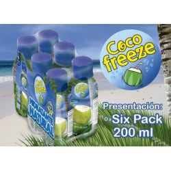 SIX PACK AGUA DE COCO FREEZE ( 200ML)