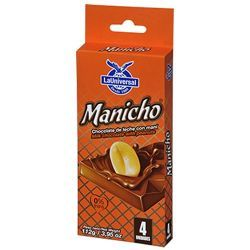 MANICHO BARRA DE CHOCOLATE (4U)