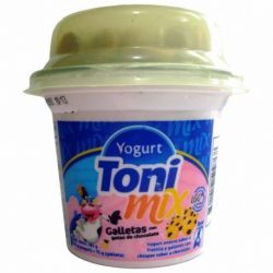 YOGURT TONI MIX GALLETA FRUTILLA (170GR)