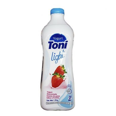 YOGURT TONI LIGHT FRUTILLA ( 1.7KG)