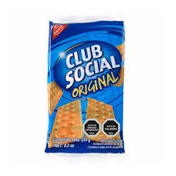 GALLETAS CLUB SOCIAL DE SAL ORIGINAL 234 GR (9 U)