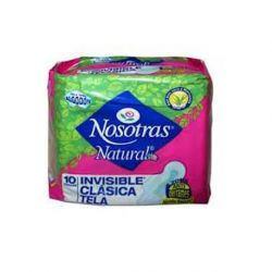 NOSOTRAS NATURAL INVISIBLE CLASICA TELA