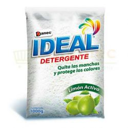 IDEAL DETERGENTE LIMON ACTIVO QUITA MANCHAS 1000G