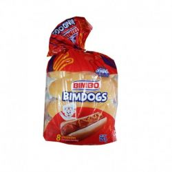 PAN PARA HOT DOG BIMBO (320 GR)