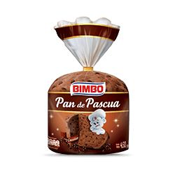 BIMBO PAN DE PASCUA CHOCOLATE (450GR)